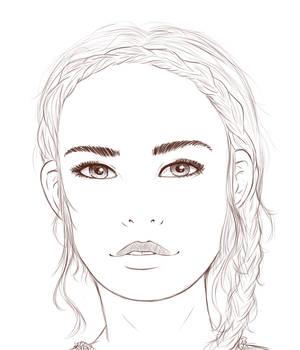 Portrait sketch 3
