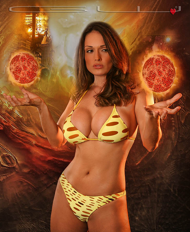 The Sorceress....Kellie by GWBurns