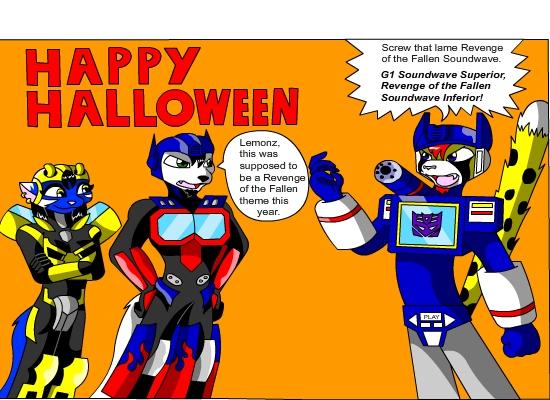 An S.O.S Halloween by neyola298