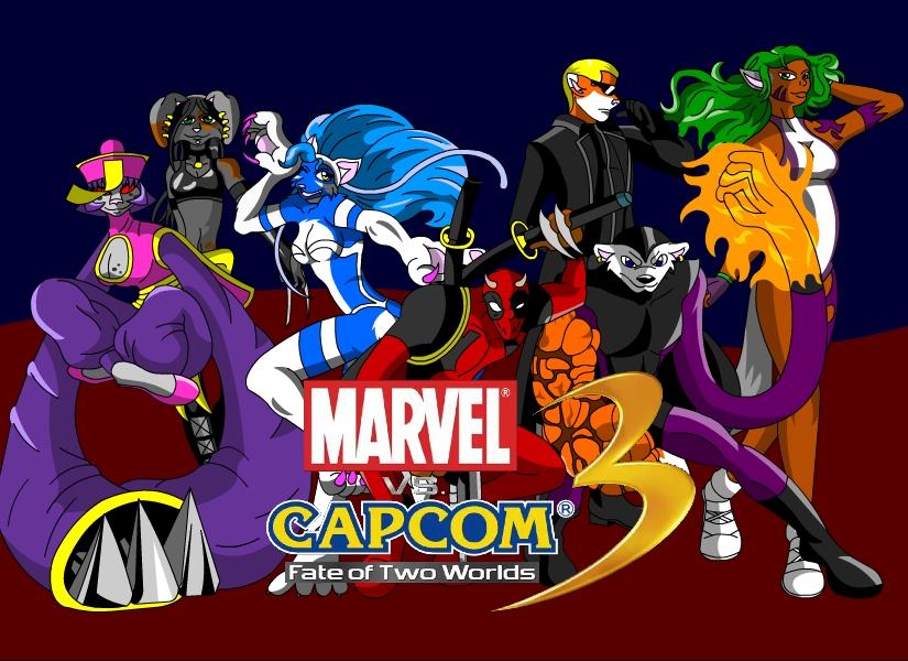 Marvel vs capcom cosplay by neyola298