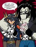 Lobo Plays Card Games