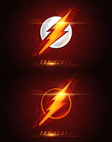 The Flash Logo - Movie Poster by bpenaud