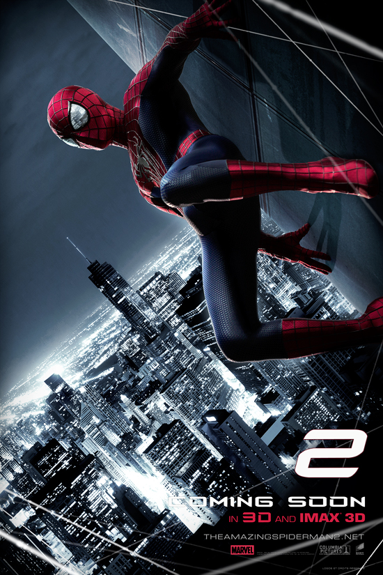 The Amazing Spider-man 2 Movie Poster by oroster