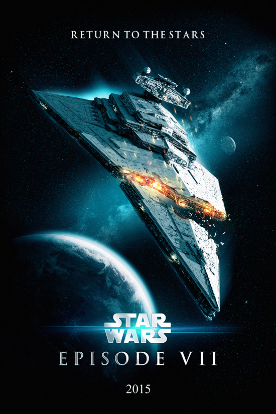 Star Wars 7 Poster by oroster