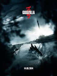 Godzilla Movie Poster Contest (FR) by bpenaud