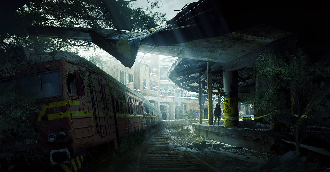 The Train Station by bpenaud