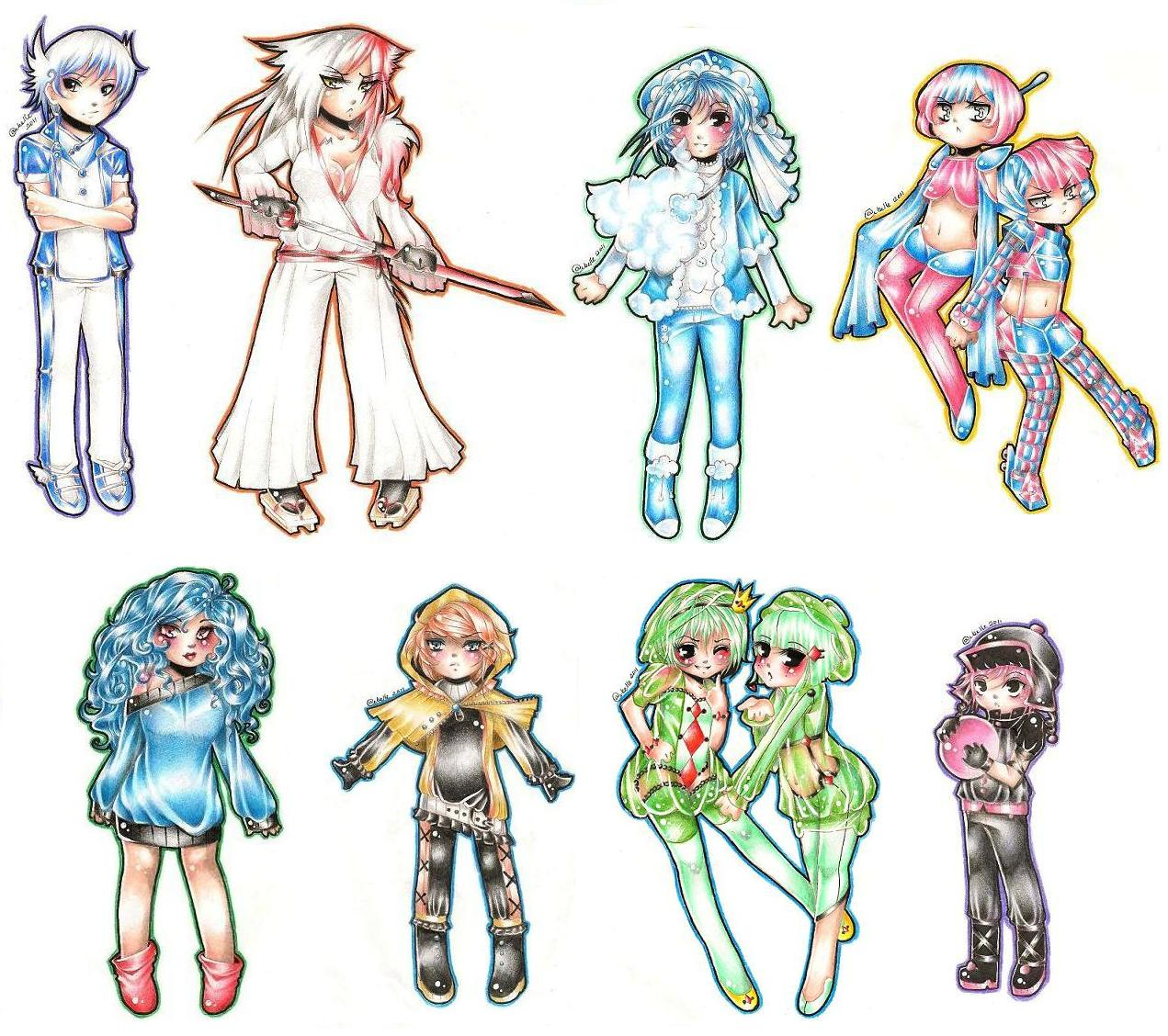 Magical Girl Outfits Gallery