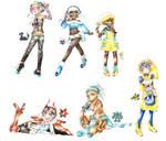Pokemon Gijinka Dump 37