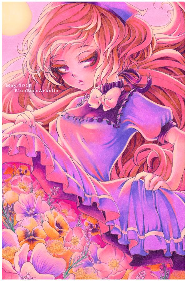 May - Flourish by BlueRoseArkelle