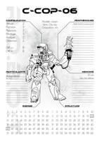 Robot Cop by IblitzCorporation