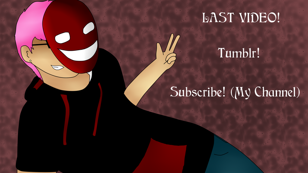 New Youtube Endcard by TheArtisticIntrovert