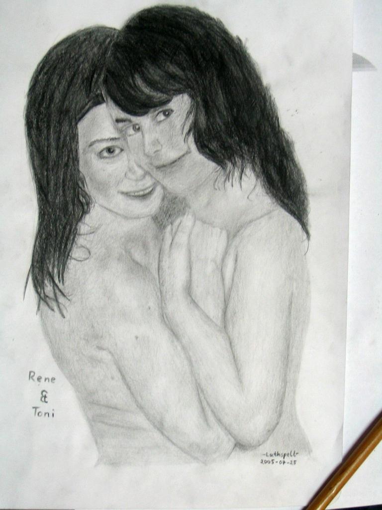 Rene + Toni by lathspell42