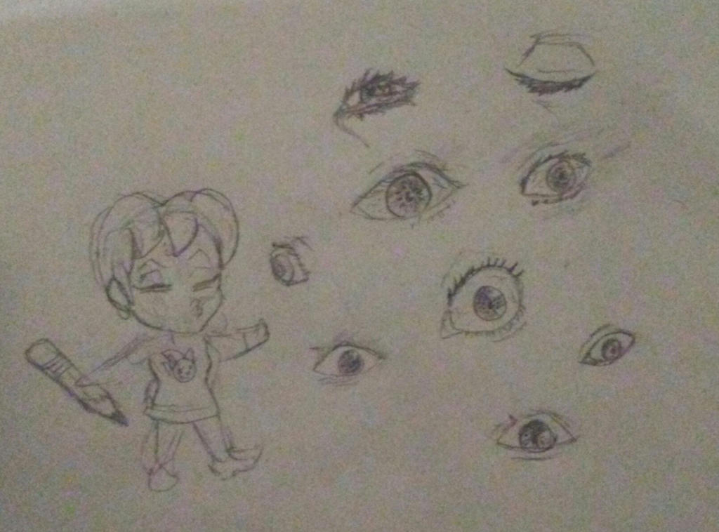 Ugly realistic eyes by HecsabaTH
