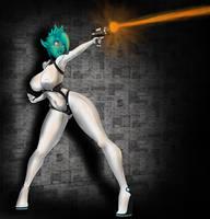 Alien babe by NovaGraph