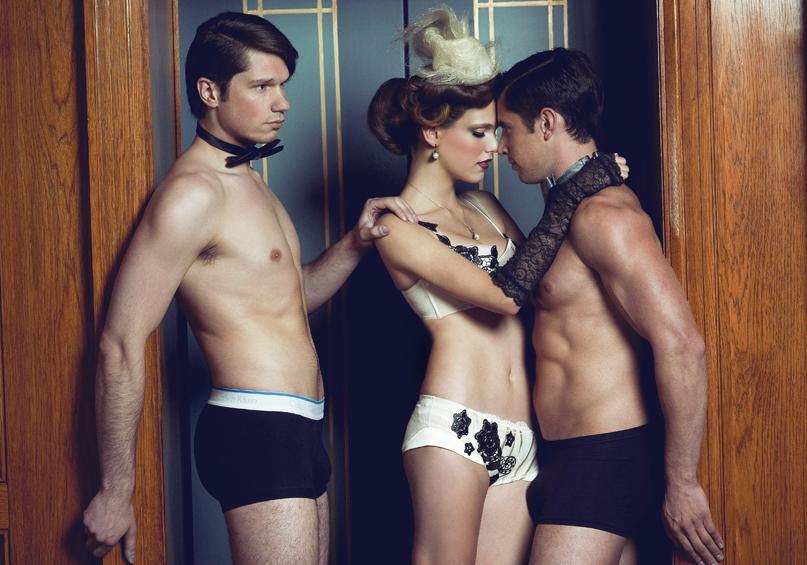 Three's company by DmajicPhotography