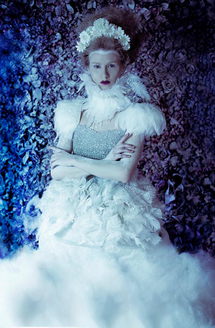 Ice Queen III (Secret Garden) by DmajicPhotography