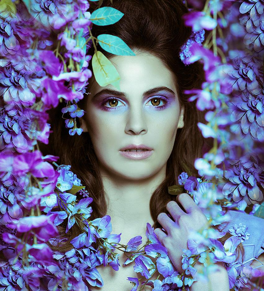 Wisteria Princess IV by DmajicPhotography