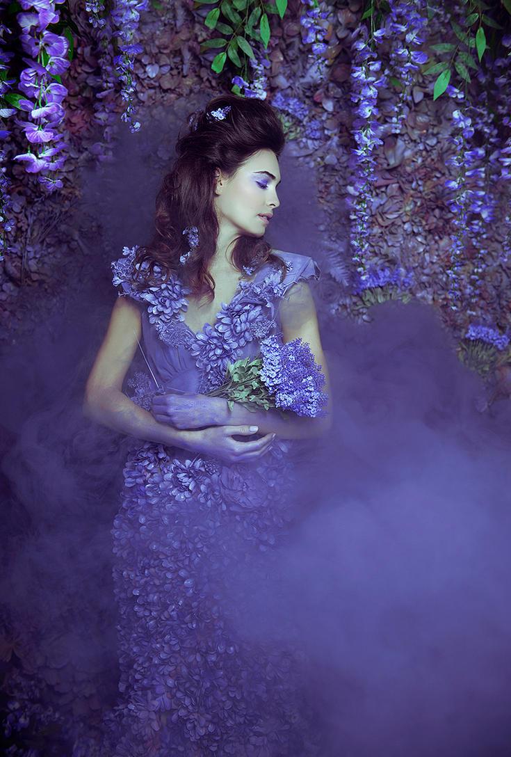 Wisteria Princess II by DmajicPhotography
