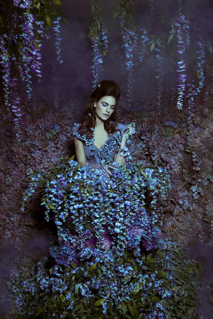 Wisteria Princess by DmajicPhotography