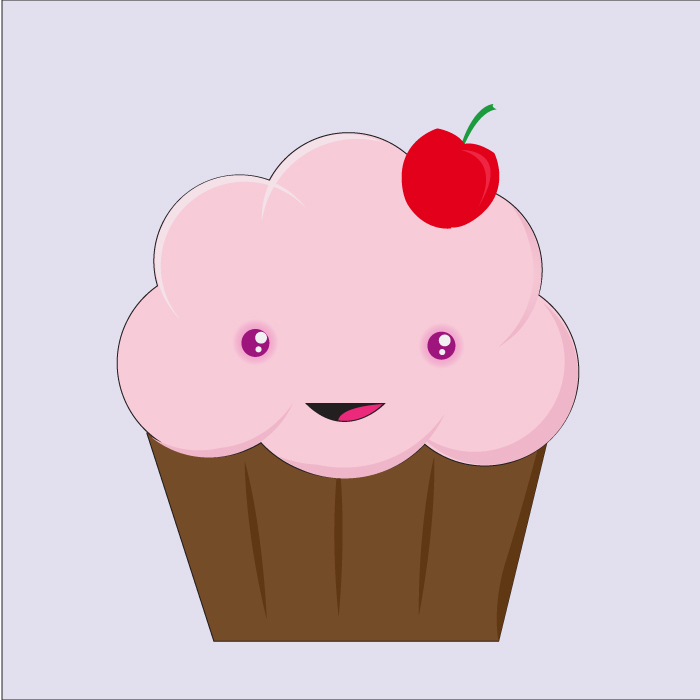 Cute cupcakes drawings cake ideas and designs for Cute muffin drawing