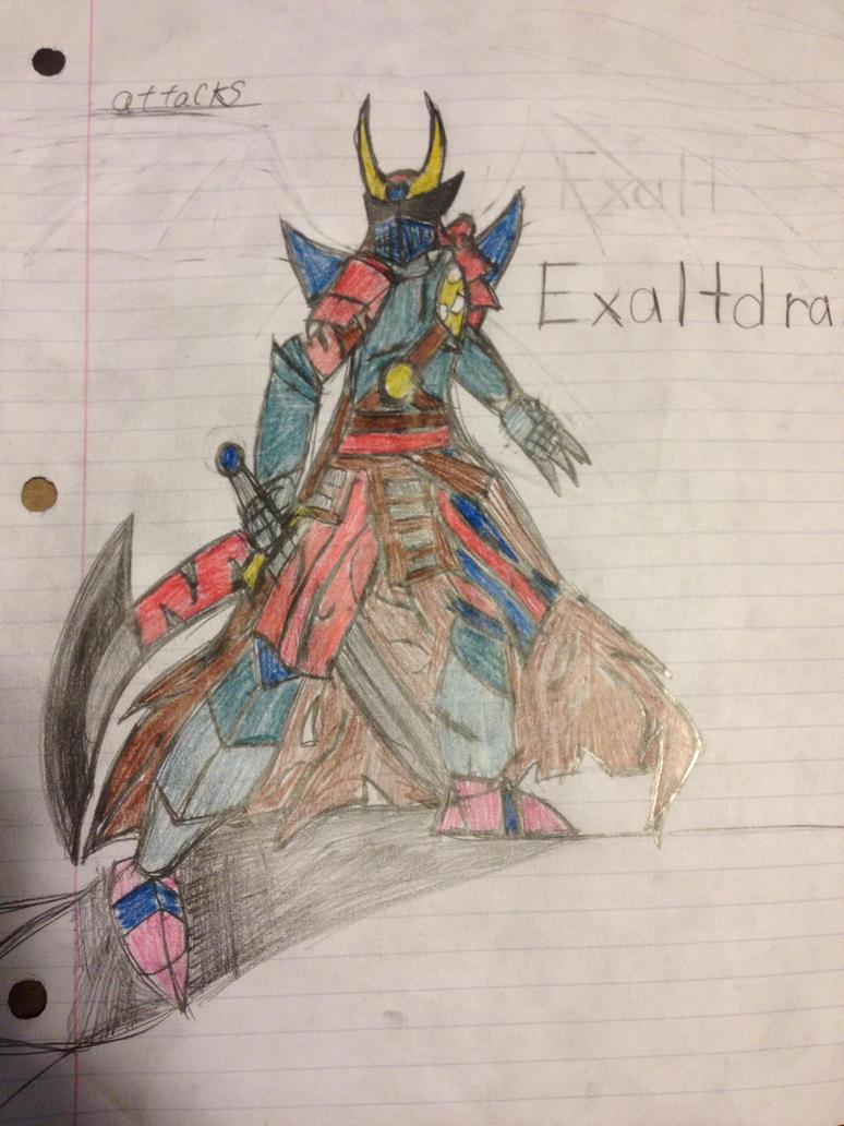 exaltdramon V.4 by GrimlockGabe