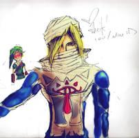 Sheik by radfel
