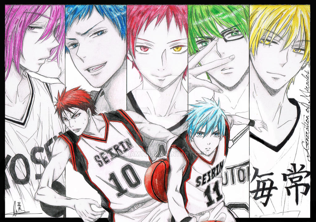 Kuroko no basket - Generation of Miracles by WilliamTin