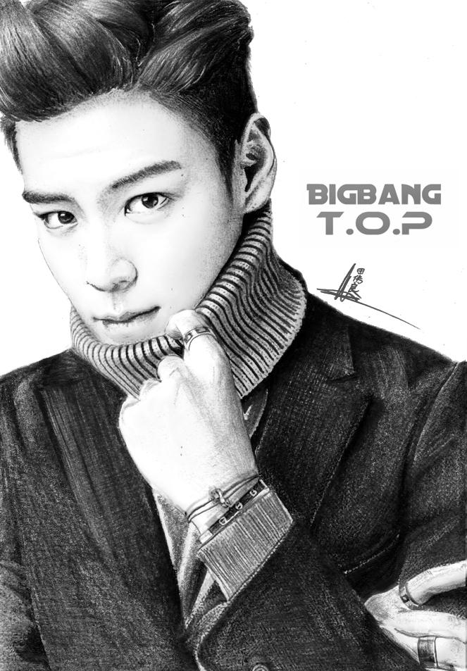 Bigbang T O P By Williamtin On Deviantart
