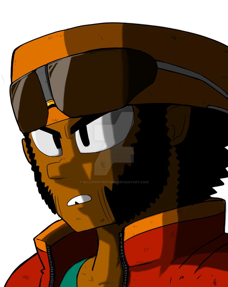 Winston (DIGITAL) by BallpointsStudio