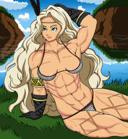 Amazon Dragon's Crown by ambientx7