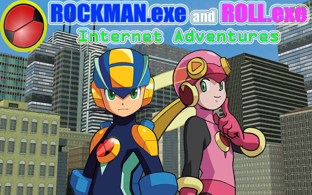 How To Draw Rockman Exe