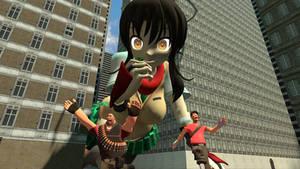 Asuka is Giant