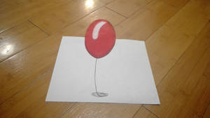 IT red balloon by captaincrunch1950
