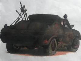 Mad Max Interceptor! by captaincrunch1950