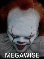 Pennywise combined with Megamind by captaincrunch1950