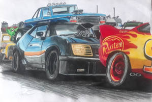 cars from Movies mash up 2 by captaincrunch1950
