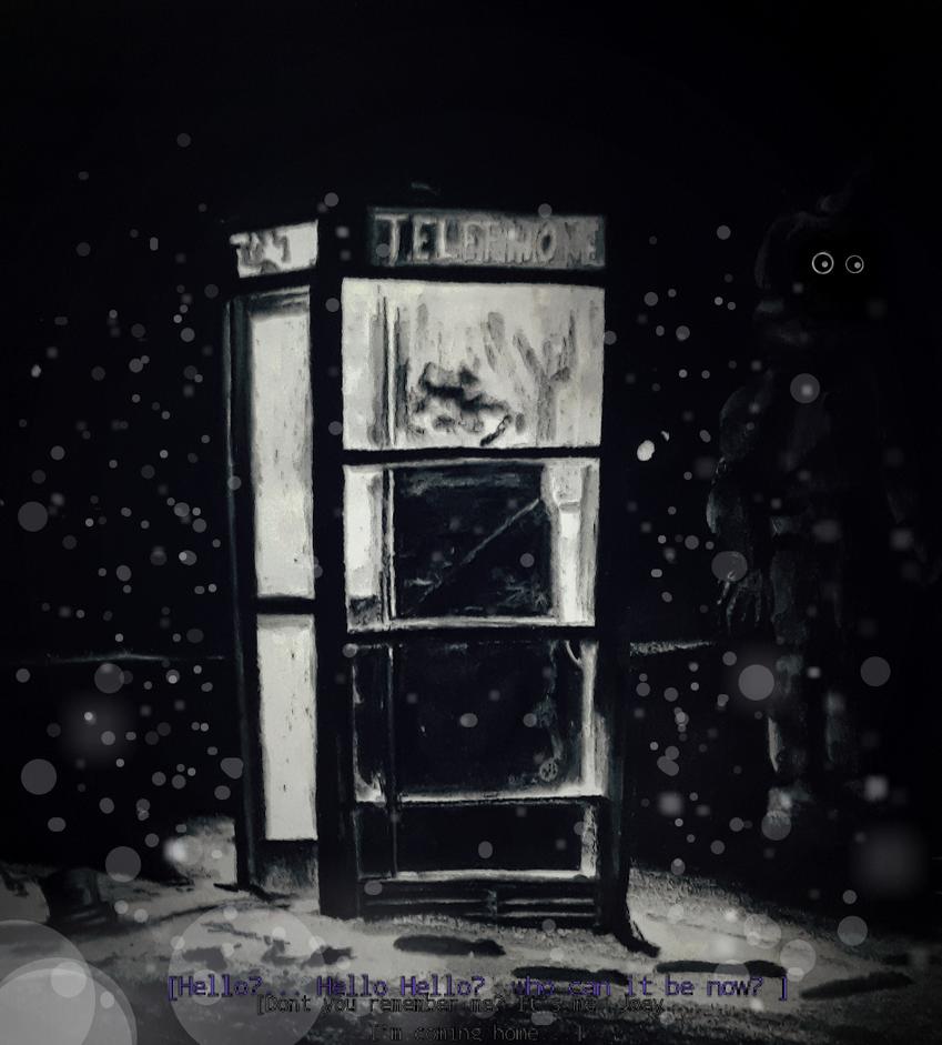 A phone call. by captaincrunch1950