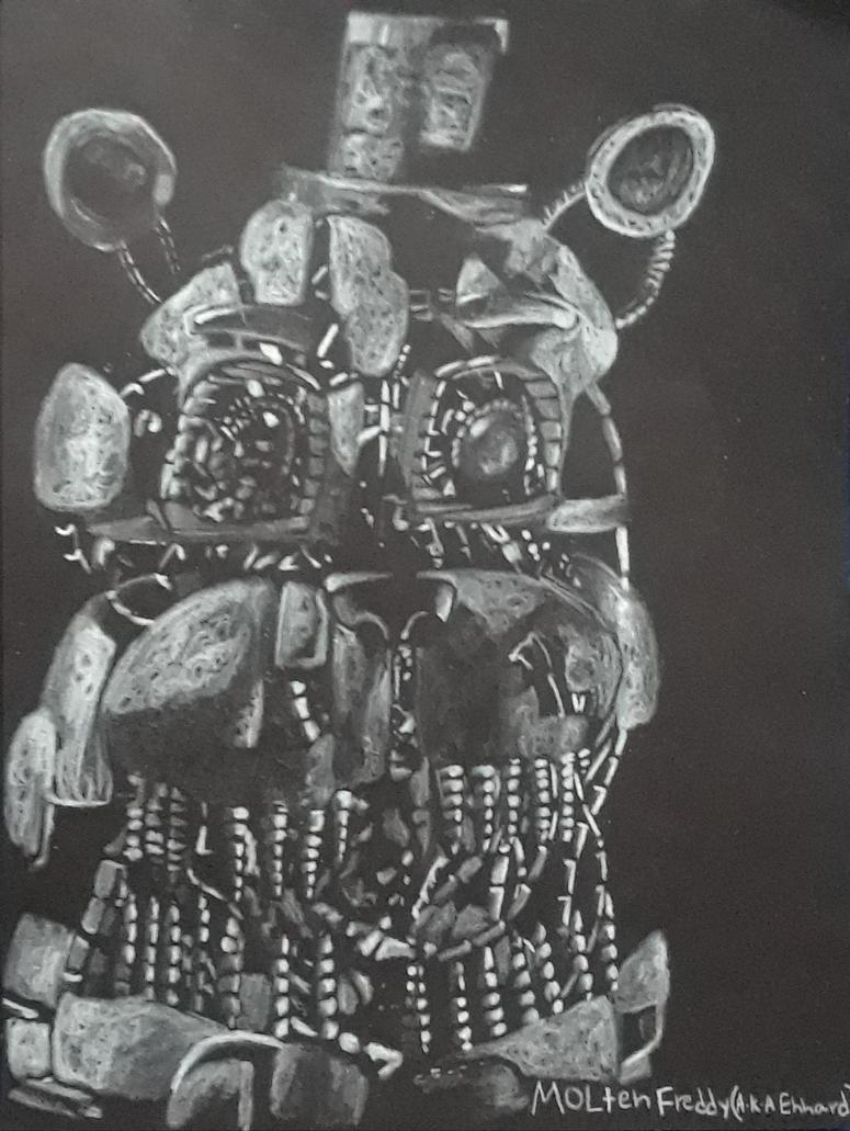 Molten Freddy AKA Ennard by captaincrunch1950
