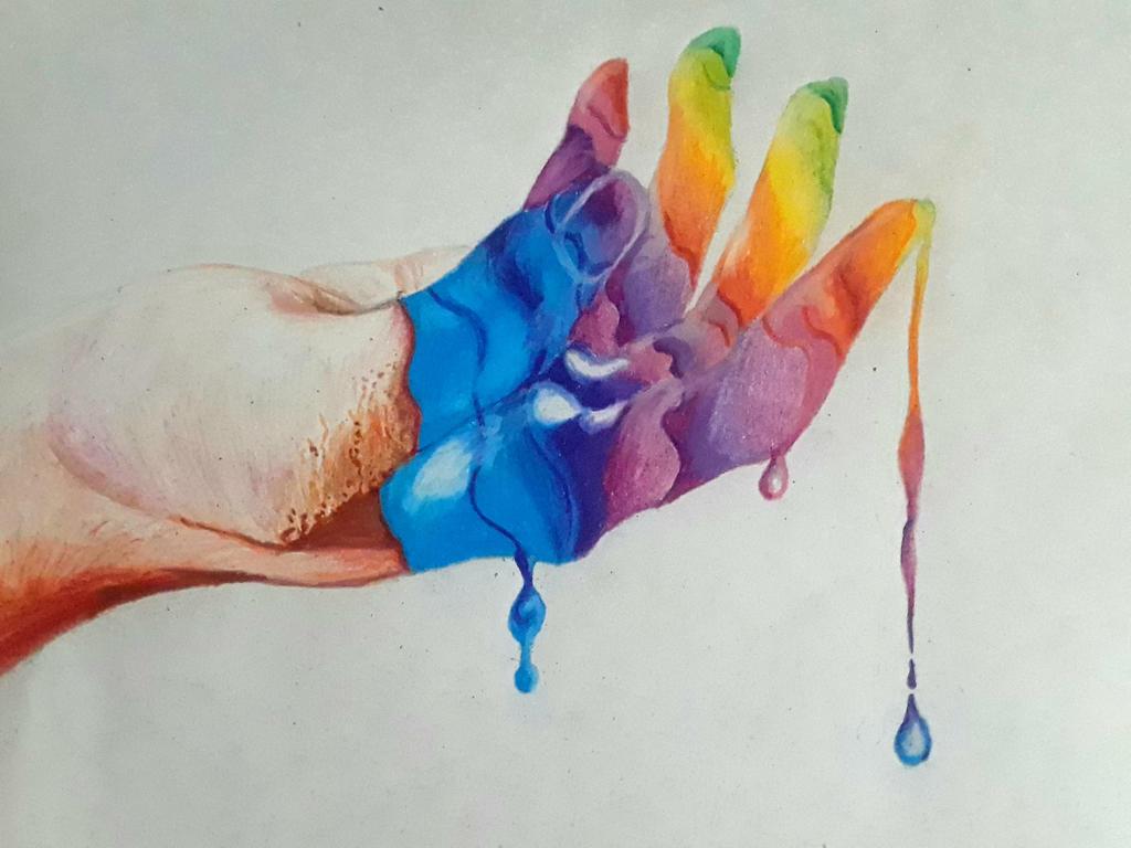 Colorful Fingers by captaincrunch1950