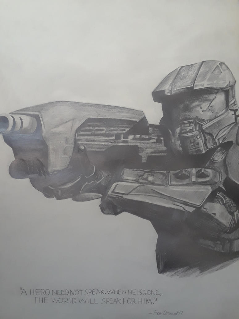 Master Chief by captaincrunch1950