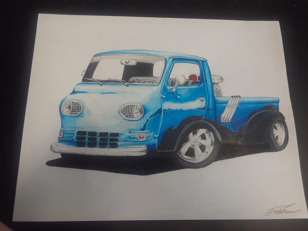bluetiful Truck by captaincrunch1950