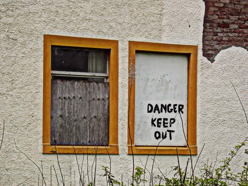 danger keep out by jannyman22