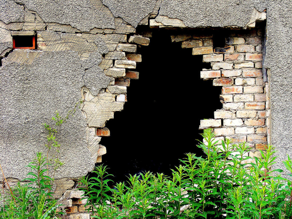 a hole in the wall by jannyman22