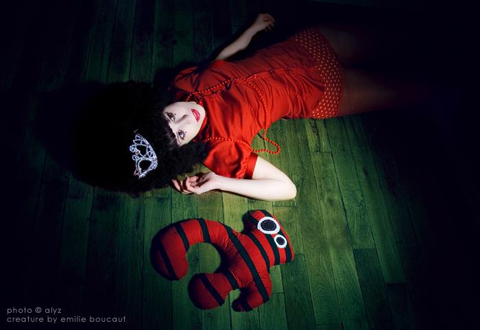 La Demoiselle et la creature I by Alyz