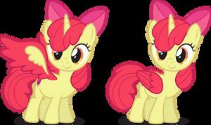 Alicorn Apple Bloom [Request]