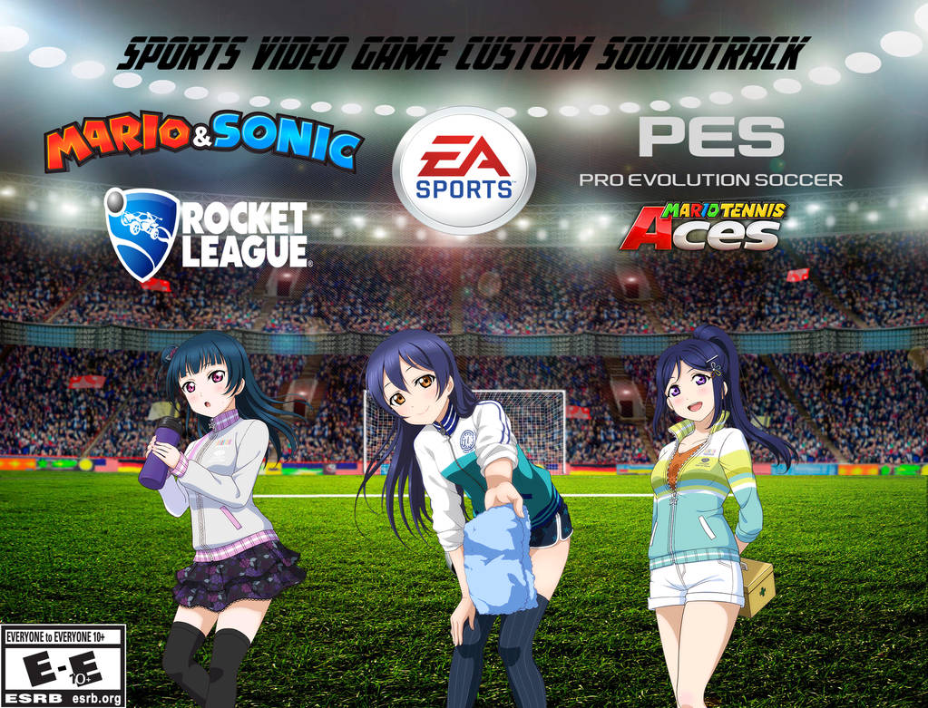 Sports Video Game Custom Soundtrack by ProjectOneAMG on DeviantArt