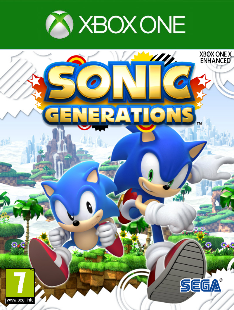 Sonic Generations Xbox One Cover By Projectoneamg On Deviantart