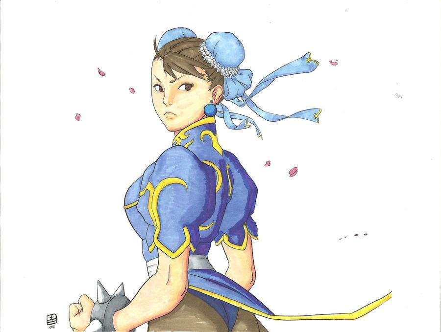 Chun LI by JesterKing09