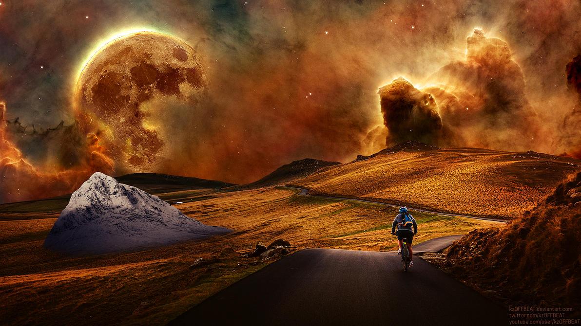 Celestial Bike Ride - #kzOFFBEAT by kzOFFBEAT