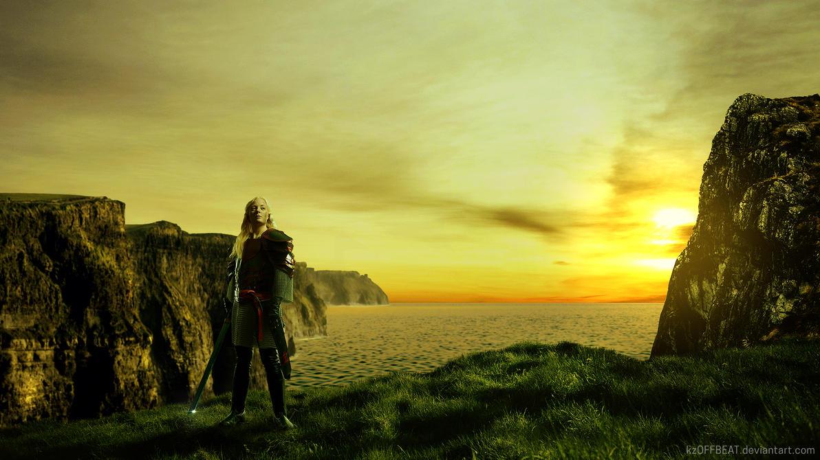 Eowyn The Brave - #kzOFFBEAT by kzOFFBEAT